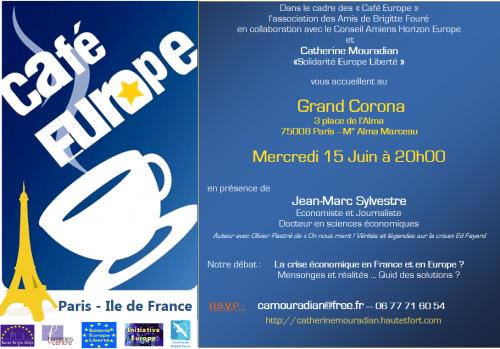 Paris, Europe Crise économique, Jean-Marc Sylvestre, centrisme