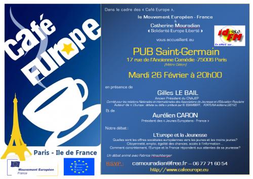Paris, France, Europe, Jeunesse, gilles LE BAIL, Aurélien CARON, Catherine MOURADIAN